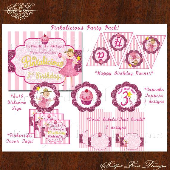 94 best Pinkalicious party images – Pinkalicious Party Invitations