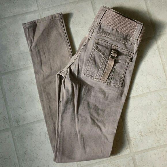 NWT - Skinny Kakis with Matching Belt NWT - BeBop Skinny Kakis with matching belt and cargo pockets. Size - 1 Pants