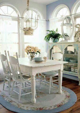 322 best shabby chic ~ diningroom images on pinterest