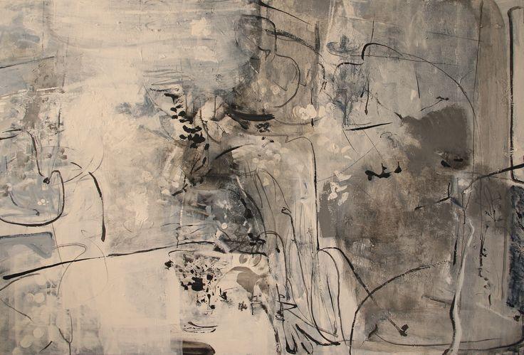 AT LAST! - Acrylic/Panel 122x183 cm. 2014. zinniaclavo.com
