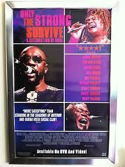 Only The Strong Survive A Celebration of Soul 2002 Movie Poster 27x40 Used Wilson Pickett, Sam Moore, Mary Wilson