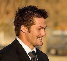 Richie McCaw, All Blacks captain.