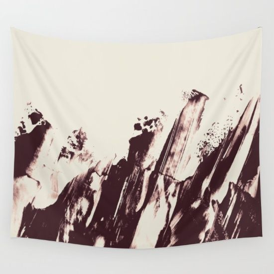 Sea in Winter Wall Tapestry