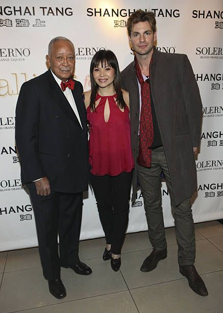 David Dinkins Fay Ann Lee and Gale Harold attend the 'Falling For Grace' premiere at the Asia Society on January 26 2010 in New York City