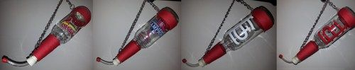 Homemade Beer Bottle Hummingbird Feeders With St Louis Cardinals | JoesCraftShack - Novelty on ArtFire