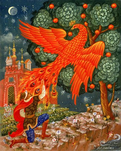 The fairy tale of The Firebird