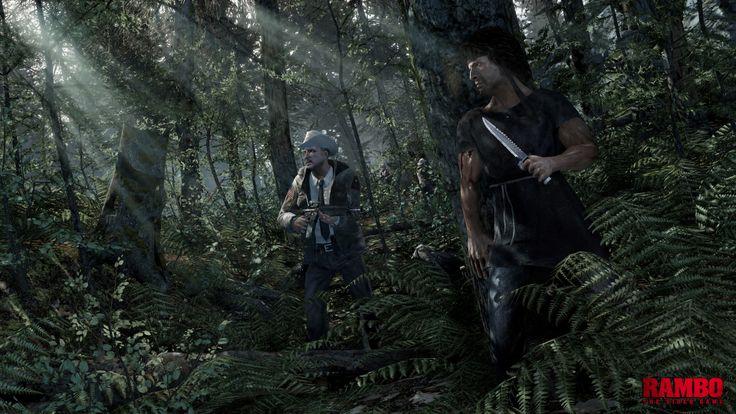 Saiu um vídeo de 30 minutos de Rambo: The Videogame
