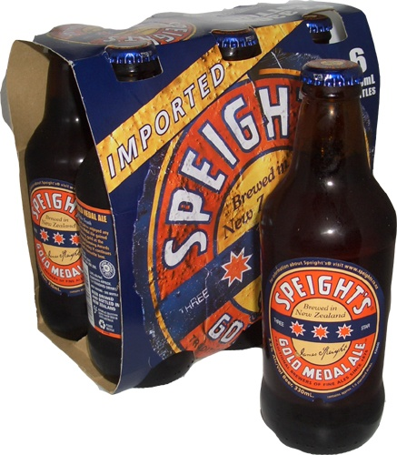 Speights - brewed in Dunedin