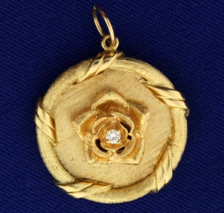 Buy online, view images and see past prices for Diamond Rose Pendant. Invaluable is the world's largest marketplace for art, antiques, and collectibles.