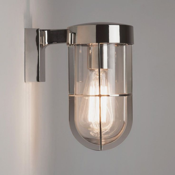 The cabin wall light is a traditional yet modern light fitting that has a classic polished
