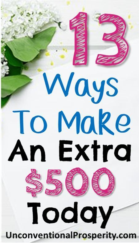 How to Make Money Fast Today (13 Ways to Make an Extra $500 Today) – #earn #Extr… – ikea hacks