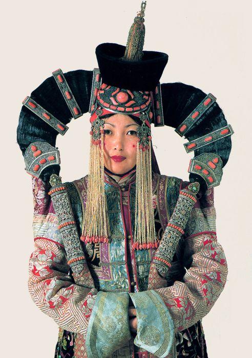 Khalkha Woman, Mongolia