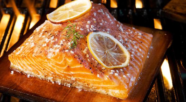This is the classic way to prepare fresh salmon like those caught in the famous Miramichi River.