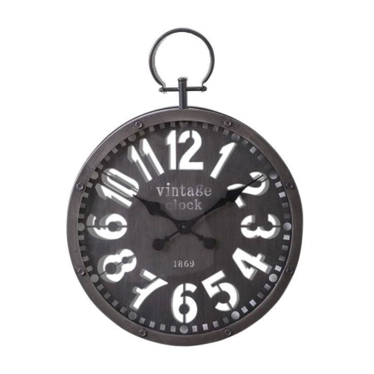 Horloge ALLISTER coloris noir