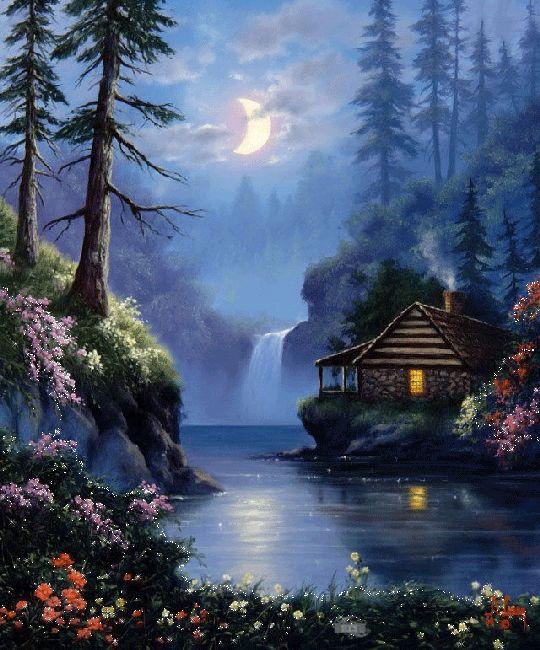 Cabaña a la Luz de la Luna soniasan