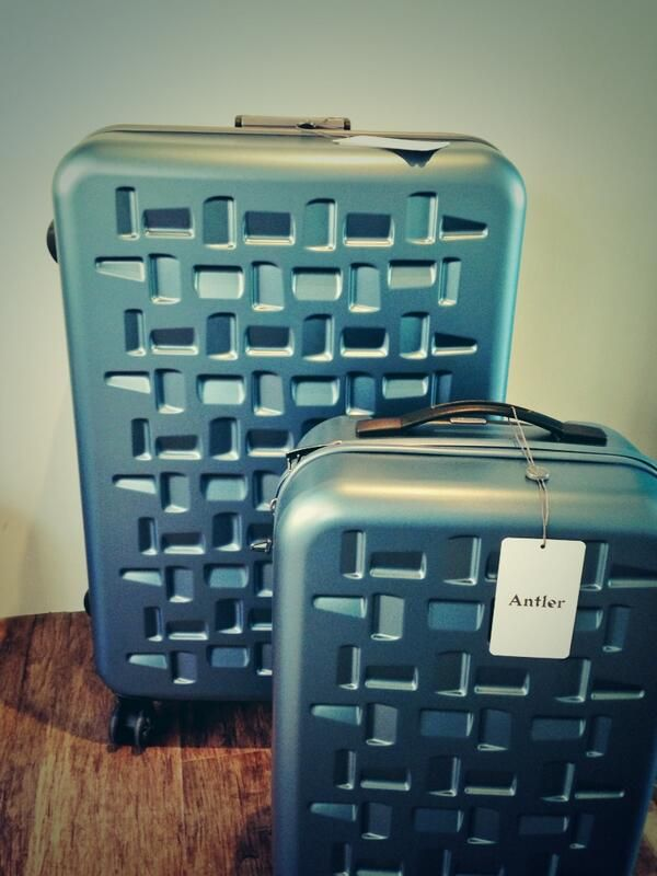 Antler luggage - super light weight with cool designs