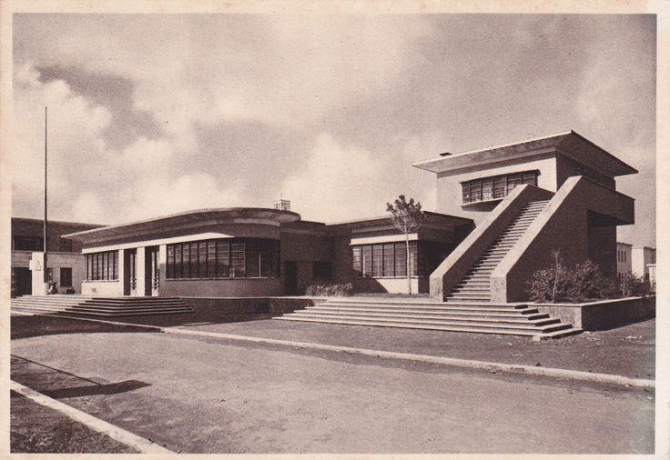Sabaudia. Palazzo delle Poste arch. Angiolo Mazzoni, Italy 1934
