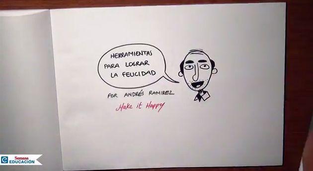 Semana Educación habló con Andrés Ramírez el profesor colombia que da clases sobre cómo ser feliz, Educación - Semana.com