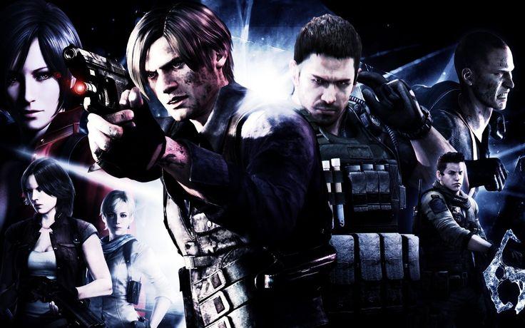 Resident Evil 6 Team With Guns
