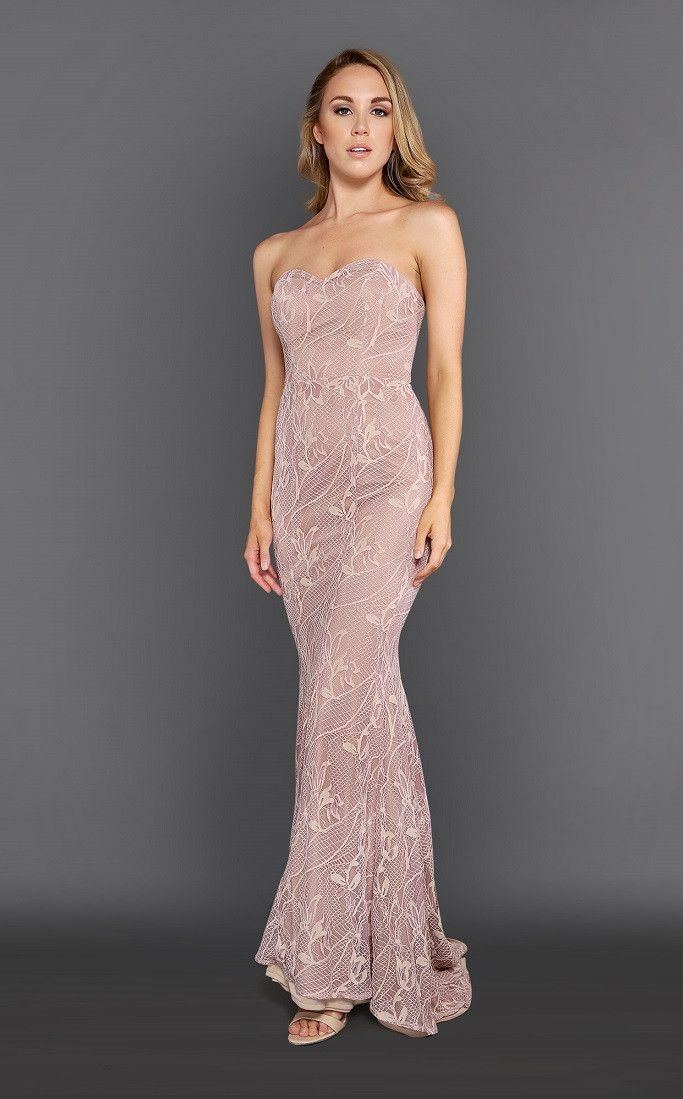 ROXCIIS  - Everlyn Pink Gown