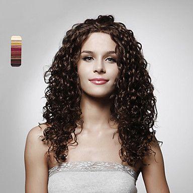 Парик без шапочки-основы из длинных вьющихся синтетических волос (цвета в ассортименте) – RUB p. 1 374,74