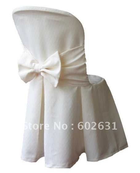L-113,Hot sale of white chair cover for folding chair,high quality Polyester fabric,washable/durable $7.89