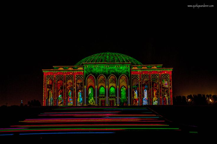 Sharjah Festival Of Lights: UAE's own Arabian nights - Quirky Wanderer