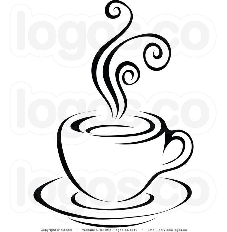 Coffee Clipart Black And White | Clipart Panda - Free Clipart Images