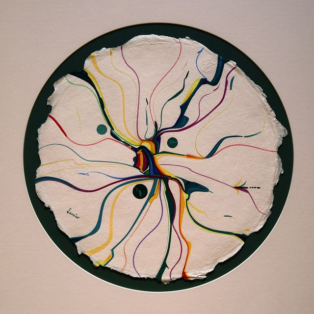 Alex Janvier | Alex Janvier | Flickr - Photo Sharing!