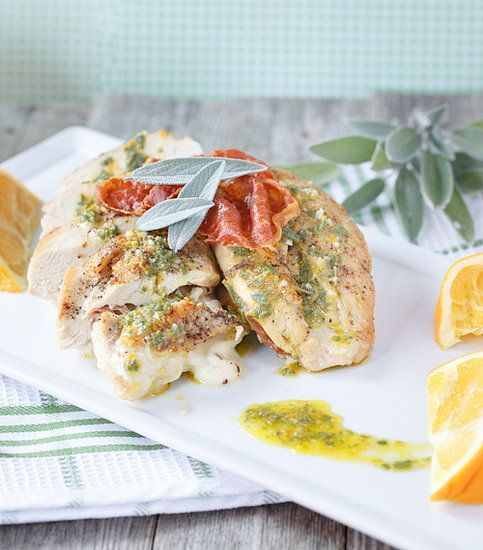 Sage & Prosciutto stuffed chicken easy | Food that I love | Pinterest