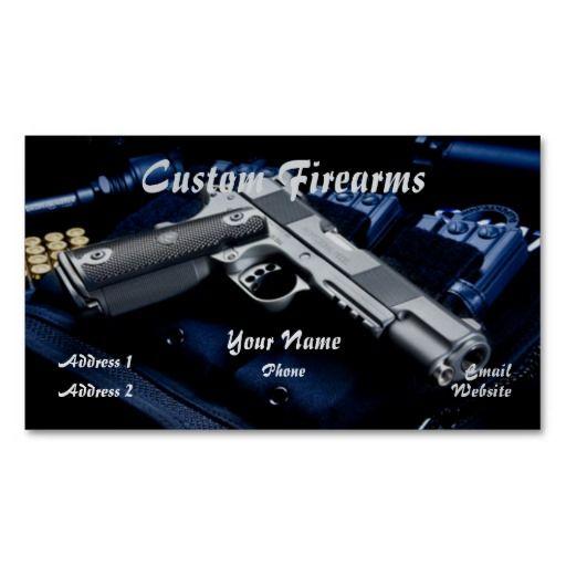 FFL dealer business card 9