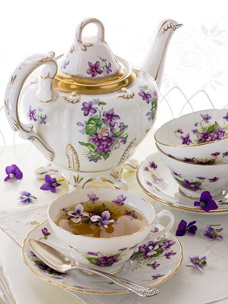 Tea Violets