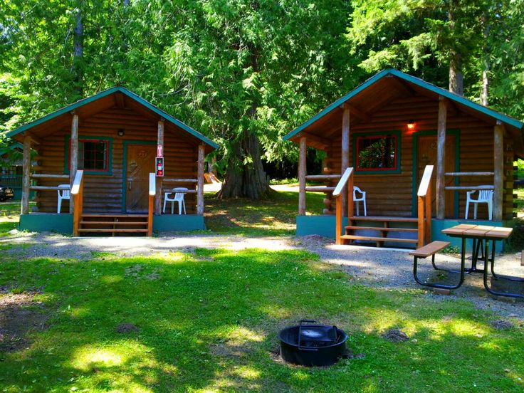 log cabin resort offers a variety of accommodations
