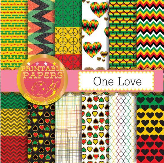 Rasta digital paper Rasta patterns for your reggae by GemmedSnail  https://www.etsy.com/listing/174445405/rasta-digital-paper-rasta-patterns-for?ref=shop_home_active_16