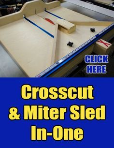 I have gone without a table saw sled for a few years now. It seems as though I was between table saws for just as long. I suppose that would be the major reason I haven't had one in so long. I n...