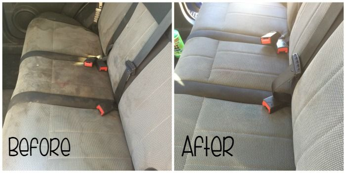 Do you have kids in car seats? In my experience I have found this equation to be very, very true. Kids + Car Seats = Stains for days. I was cleaning my ca