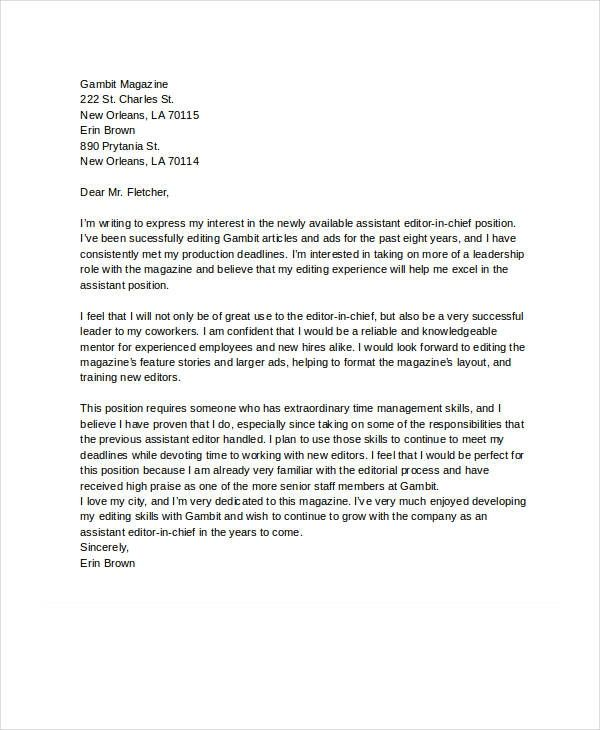 Format Letter Of Interest from i.pinimg.com