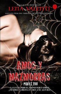 Leituras da Lu: Amos e Masmorras 8 - A luta pelo trono será cruel....