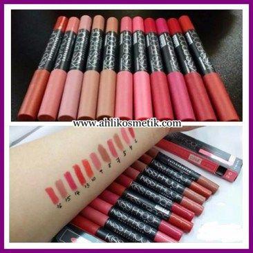 4.Bibir Menawan Kiss Proof Lipstick