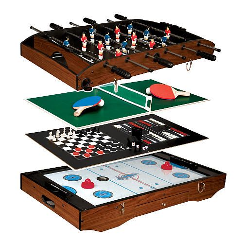Awesome Franklin Deluxe 6 In 1 Table Game