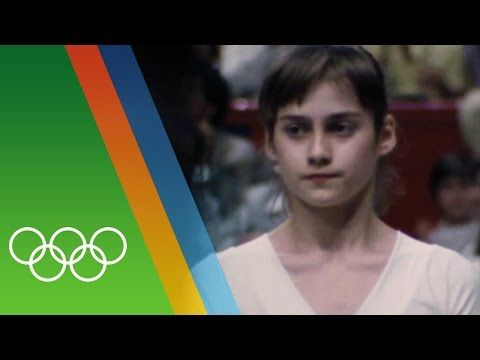 Nadia Comaneci's perfect 10 | Countdown to 2016 - YouTube