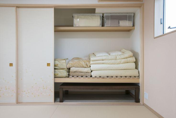 和室が広々使える押入れ #和室 #押入れ #収納