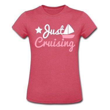 just cruising star and sailboat T-Shirt | Spreadshirt | ID: 9059580