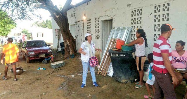 Secretaría de Salud de La Guajira apoya a damnificados por lluvias en Riohacha