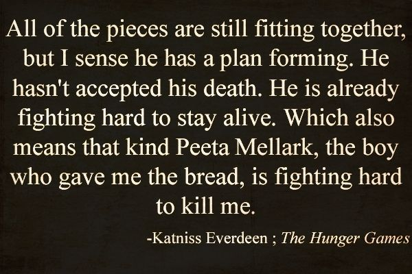 The Hunger Games. :)Hunger Games Quotes, Hunger Games 3, Games Of Life, The Hunger Games, Hunger Games Book, Hungergames, The Games, Katniss Everdeen, Katniss Quotes