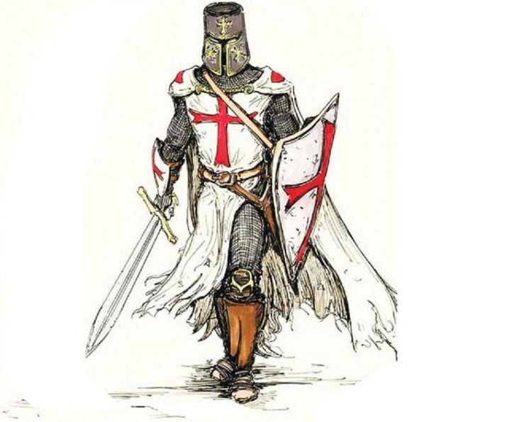 фотографией средневековые рыцари картинки и рисунки них