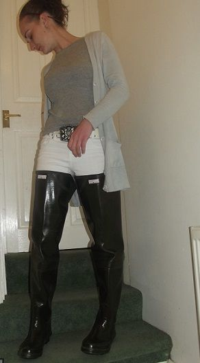 Boot lady hip waders