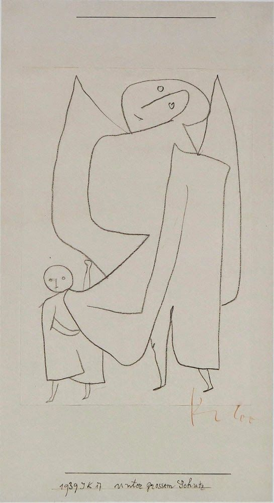 Paul Klee 1939 Under Grand Protection