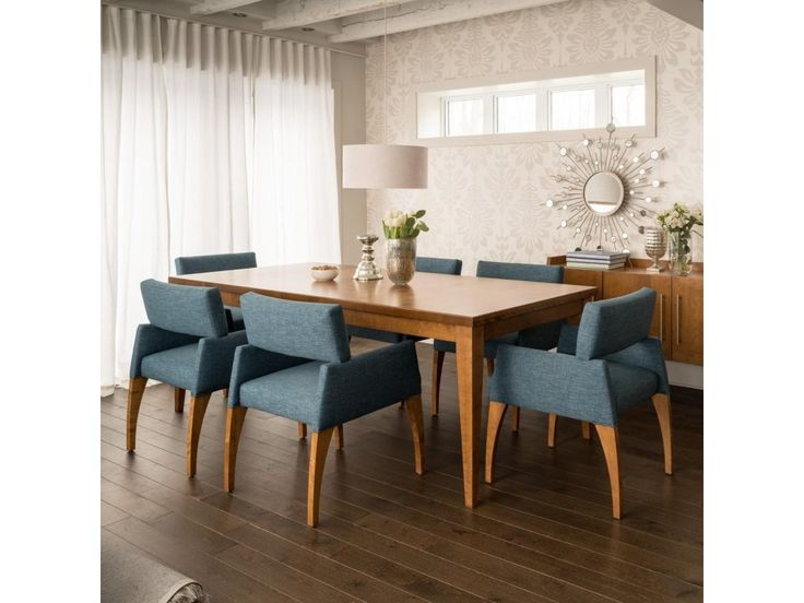 Shop For The Canadel Custom Dining Customizable Rectangular Table Set At Darvin Furniture