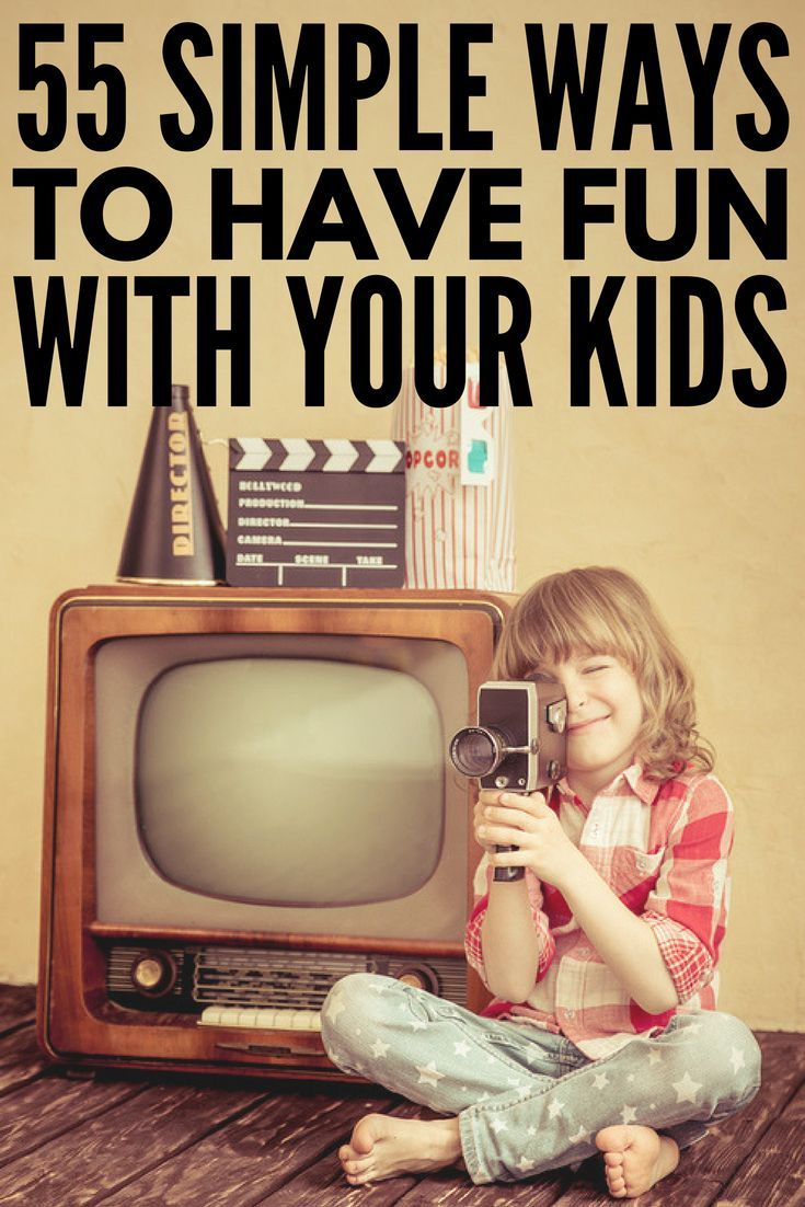 55 Super Fun Things to do with Kids | Looking for fun things for kids to do at home on weekends, bad weather days, school holidays, and during the summer months when they're bored? Whether you're looking for free crafts you can do indoors or ways to help your boys to burn off steam outdoors in the fall and winter, we've got 55 fun ideas the whole family will love! #afterschoolactivities #kidsactivities #kidscrafts #kidsgames #DIYcrafts #parenting #parenting101 #qualitytime